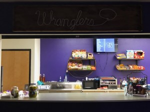 Fresh look inside the concession stand